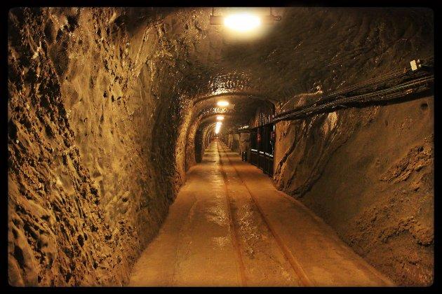 Tunnel zoutmijn