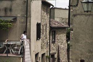 Het sociale leven in Castiglione D'orcia
