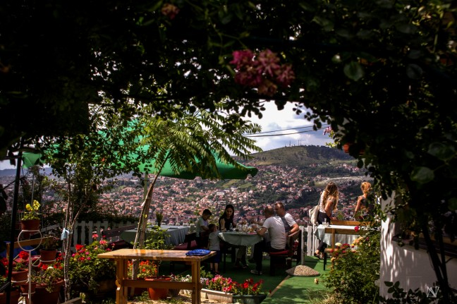 Sarajevo van boven