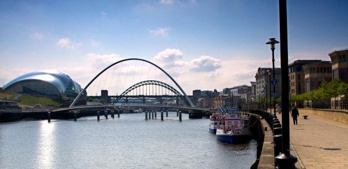 the River Tyne, Newcastle & Gateshead