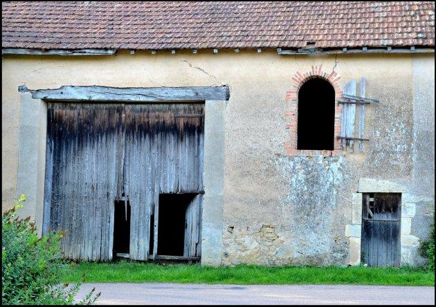 oude schuur