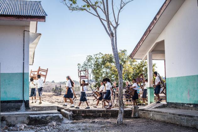 Kambata Mapambuhang school op Sumba