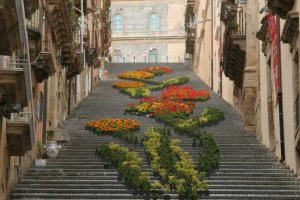 De trappen van Caltagirone