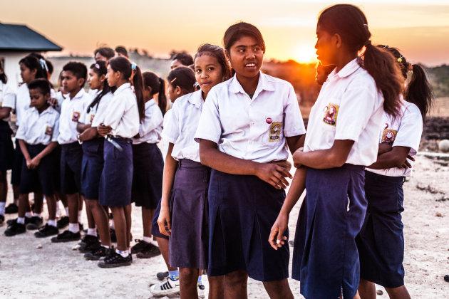 De Kambata Mapambuhang school op Sumba