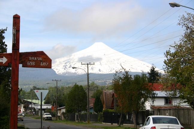 Vilarrica vulkaan in Pucon, Chili