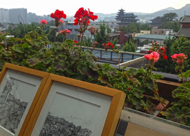 Koreaans uitzicht