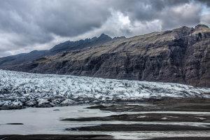 Structuren van de gletsjertong