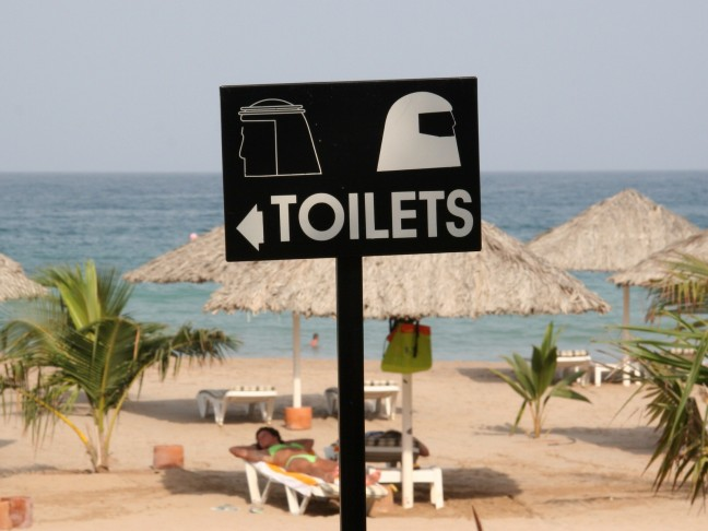 Culturele WC aanduiding