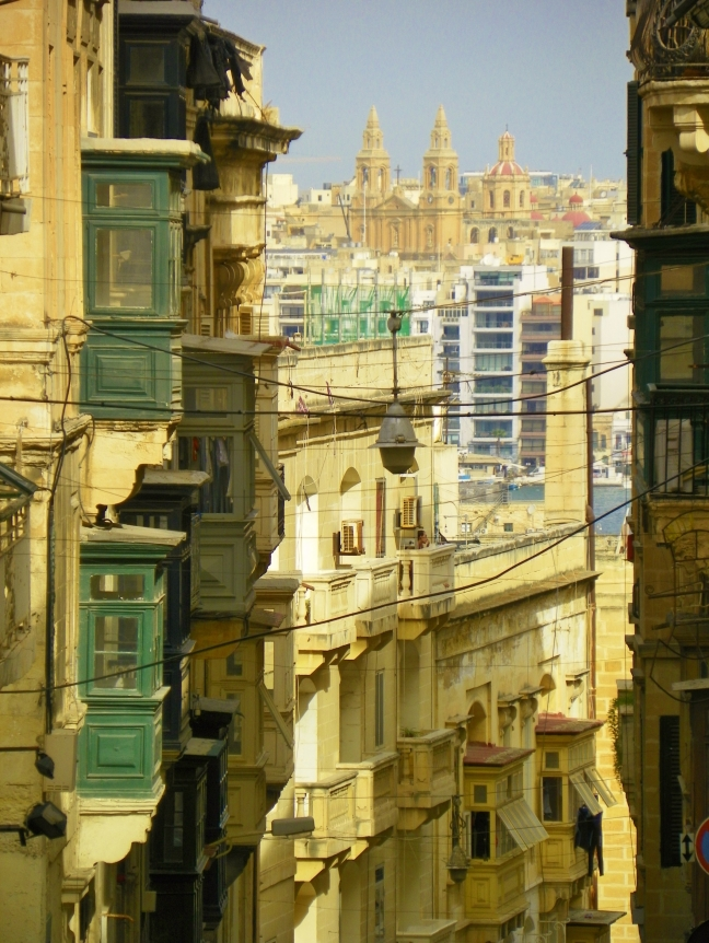 Doorkijkjes in Valletta