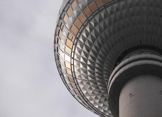 TV toren te Berlijn