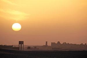 vroege zon