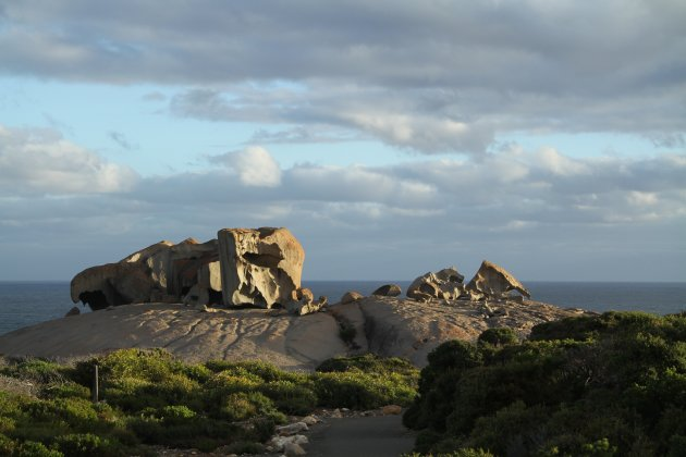 Remarkable Rocks op Kangaroo Island