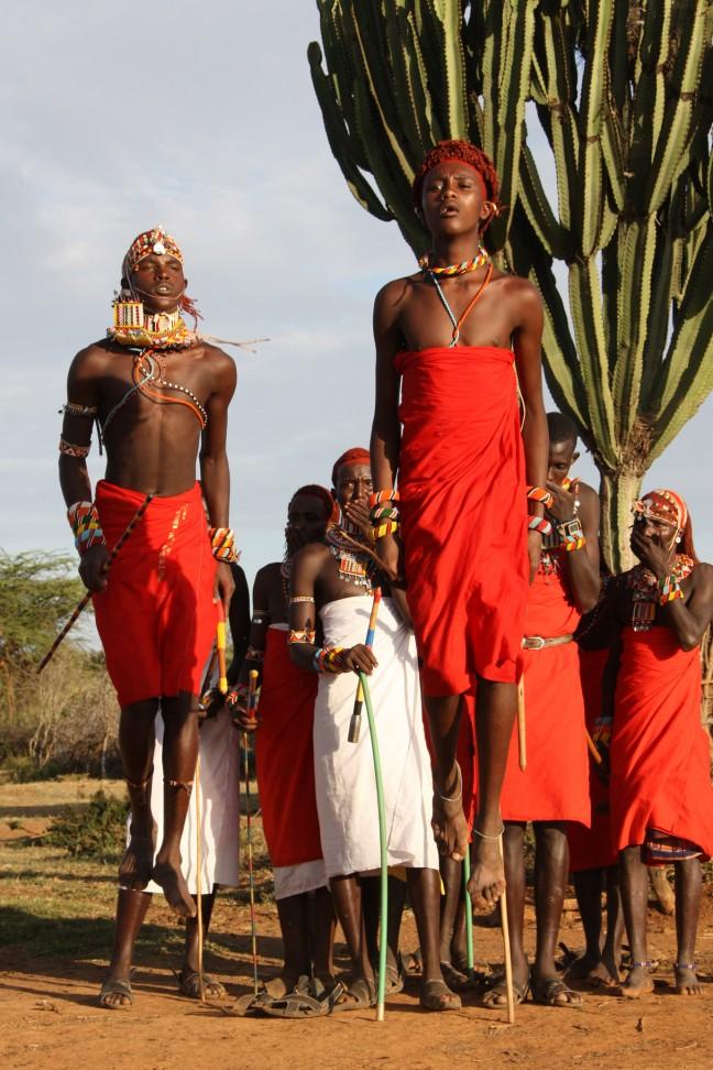 Samburu feest