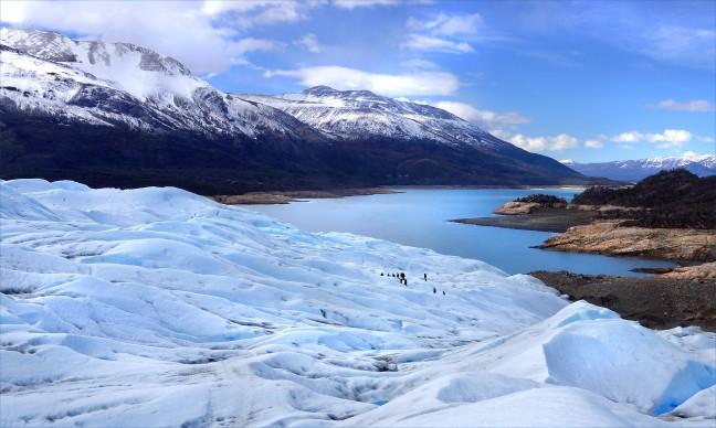 Lago Argentino gezien vanaf de gletsjer