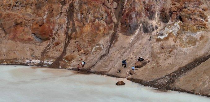 Zwemkrater Askja