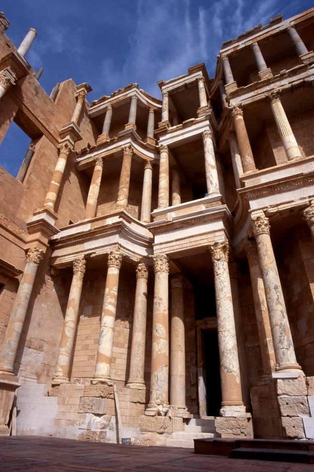 Amfitheater in Sabratha