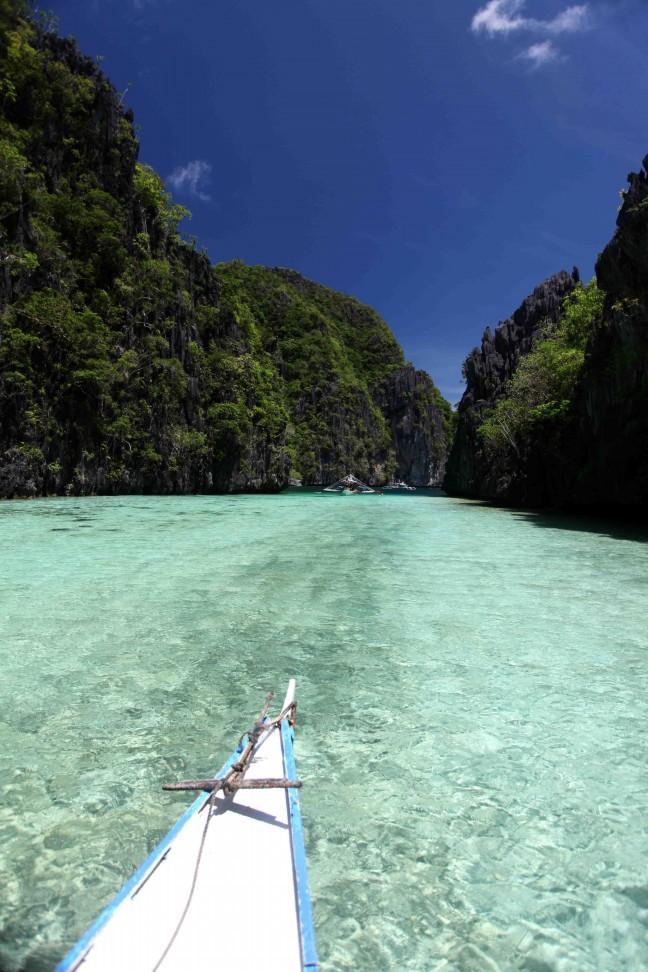 Heldere Oceaan van de Filipijnse eilanden