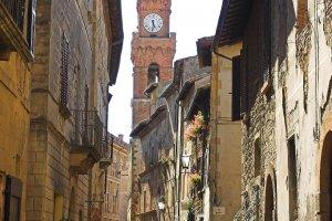 De straatjes in Pienza