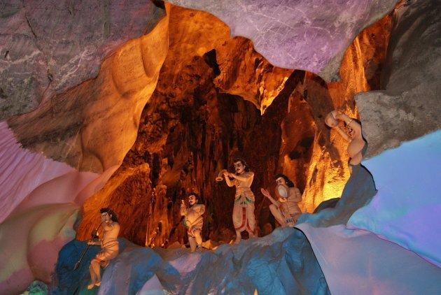Ramayana in de grot