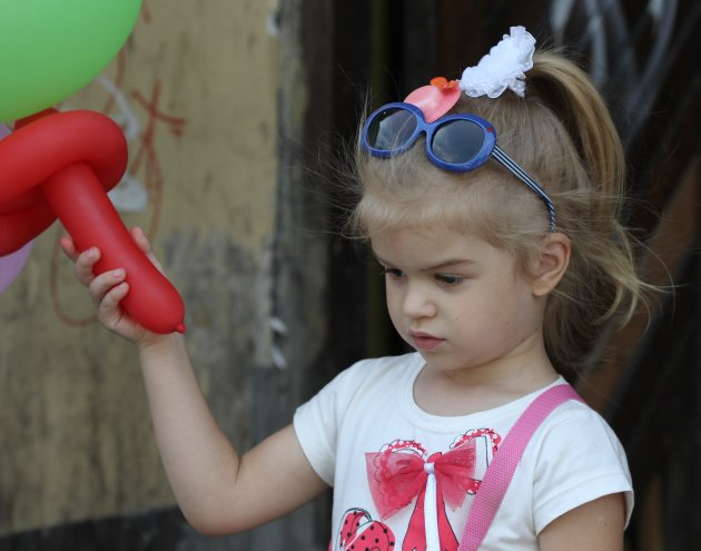 Kinderen in de Oekraine I