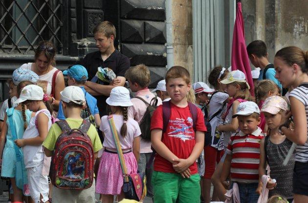 Kinderen in de Oekraïne III