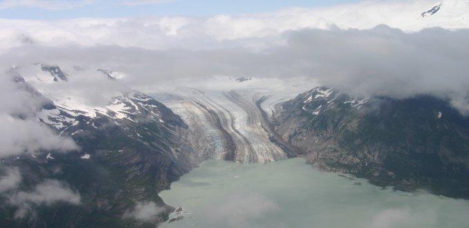 Over de gletsjer!
