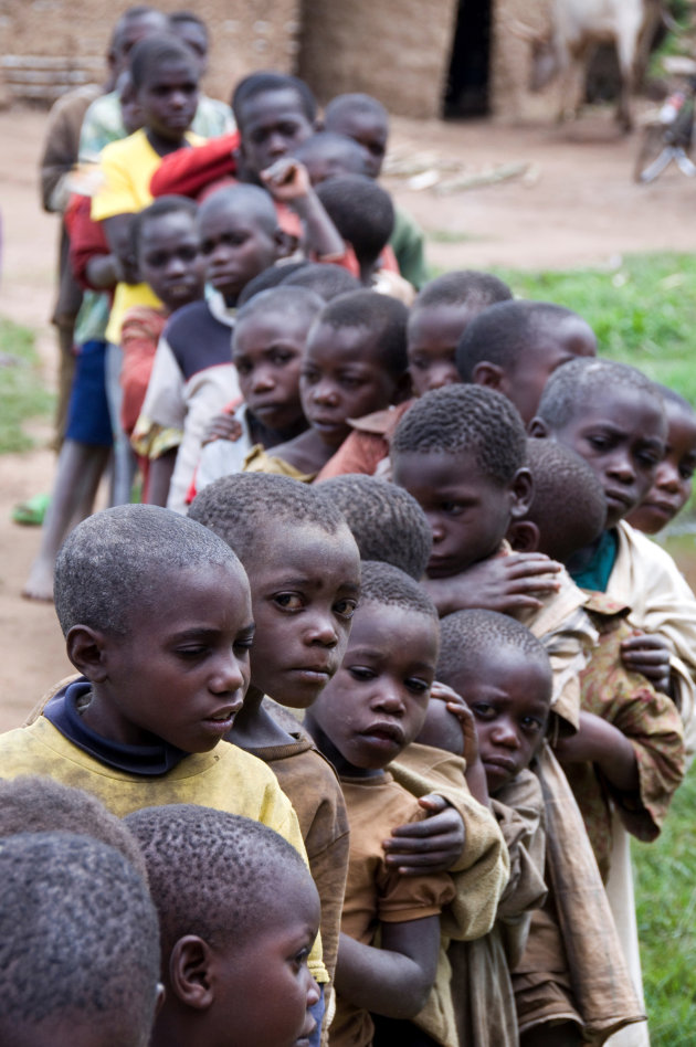 Batwa jongens