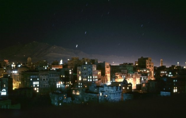 Sanaa by night