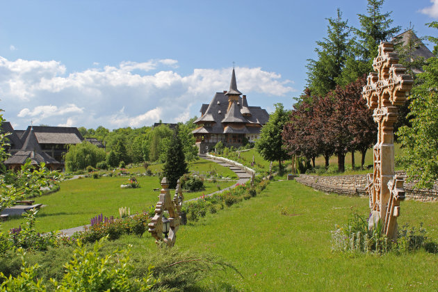 Het klooster van Barsana