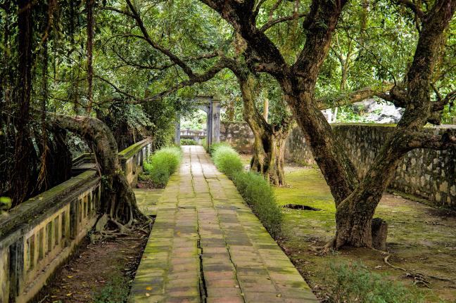 De tempel van ?inh Tiên Hoàng