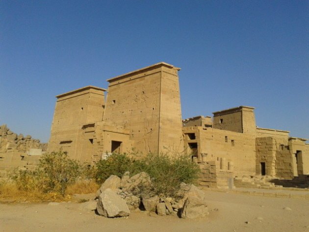 Tempel van Philea in Aswan