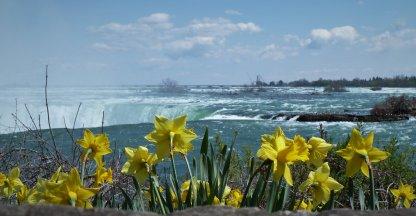 Spring at Niagara Falls