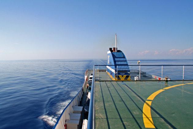 Boot naar Sicilië