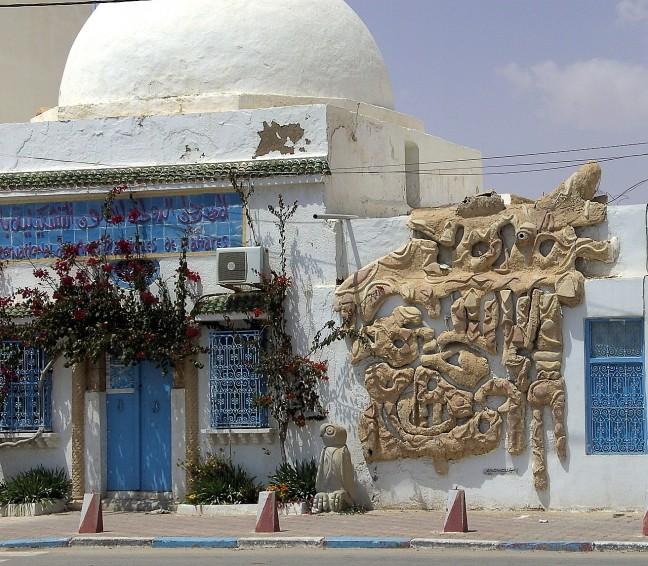 Mahres kunststad van Tunesie