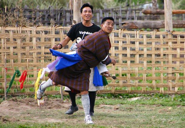 Khuru, nationale sport in Bhutan