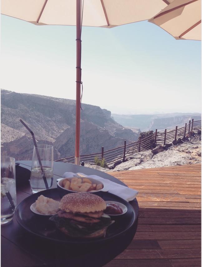 Lunch op grote hoogte