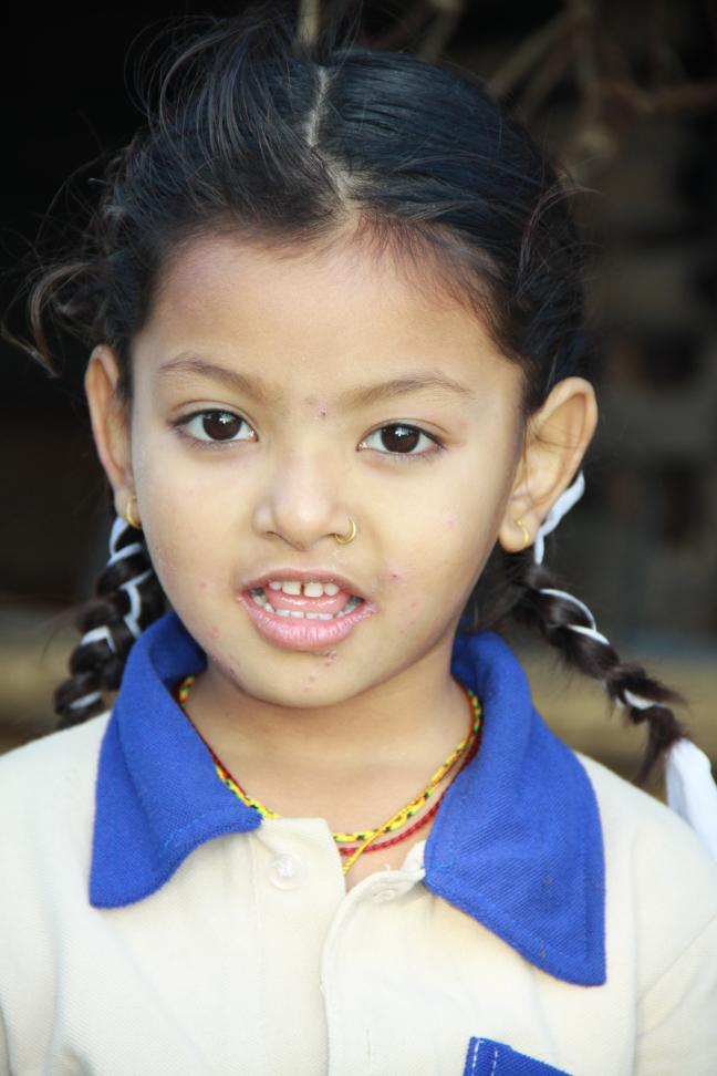Meisje in Pithauli