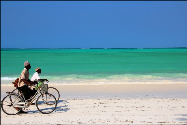 fietsen op wit