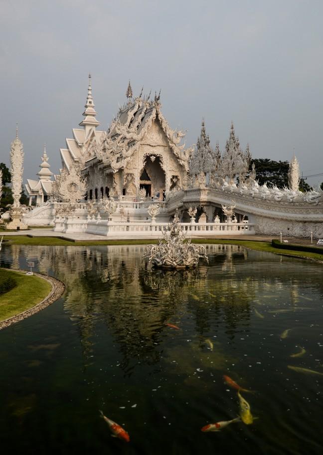 Tempels en vissen