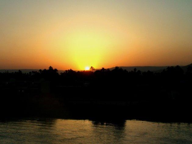 Sundowner at The Nile
