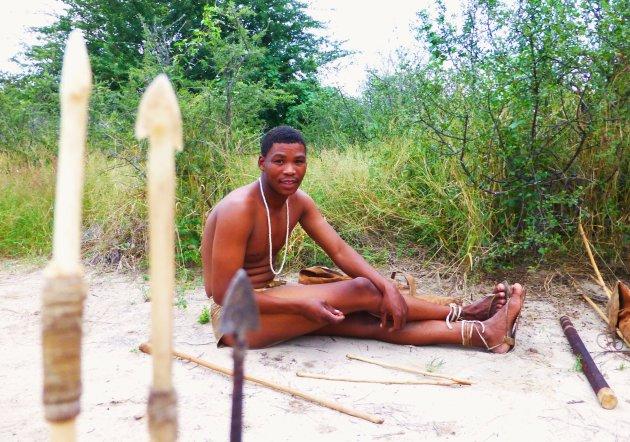 San Bushmen experience