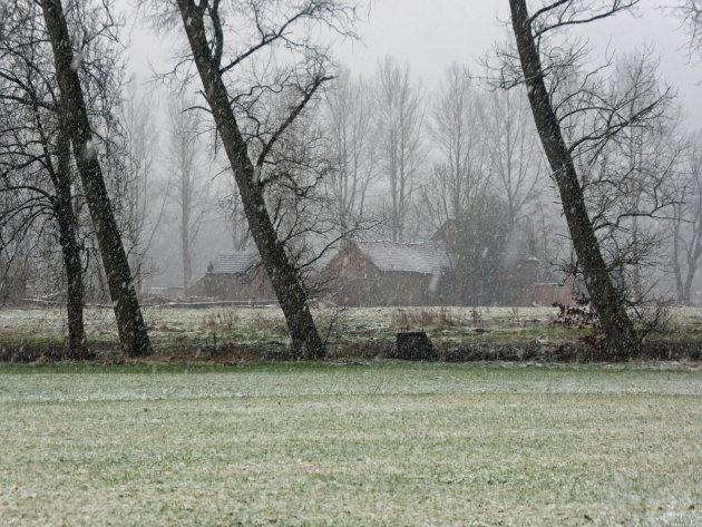 Winter aan de Demer