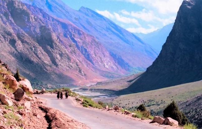 Leh-Manali snelweg