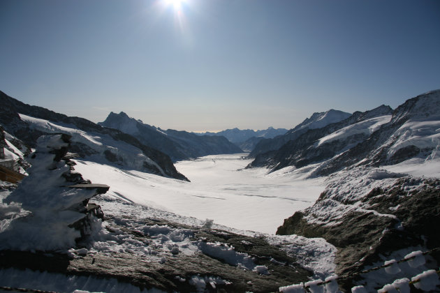 Het Jungfrau joch