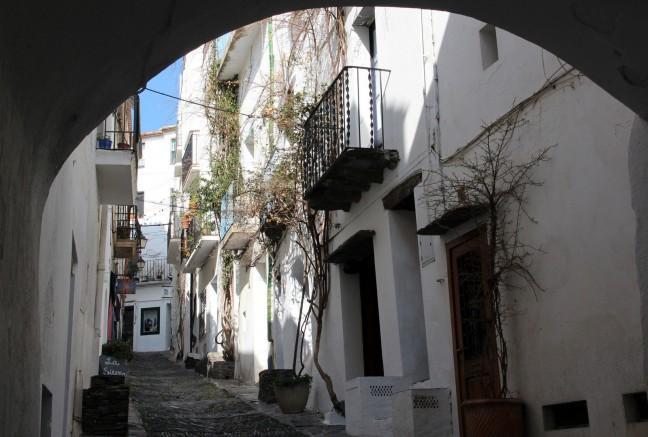 Straatje in Cadaqués