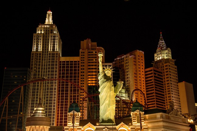 What Happens in Vegas...
