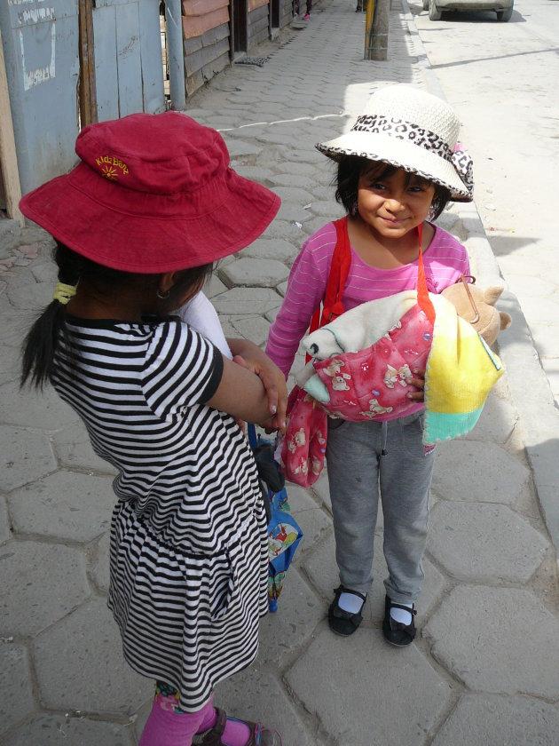 Struis Bolivaans meisje