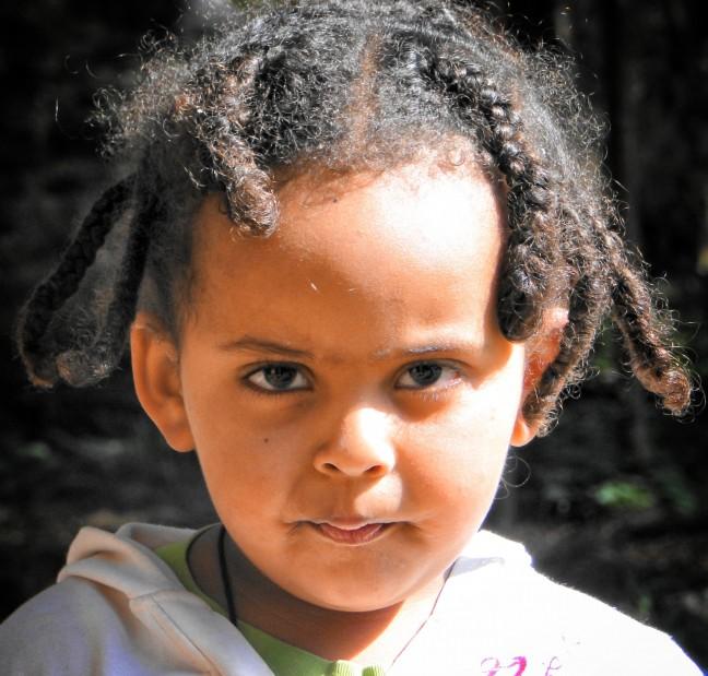 Ethiopische kleuter