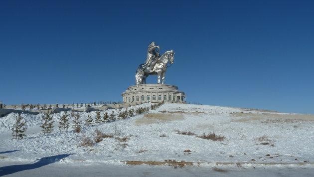 Genghis Khan standbeeld en museum