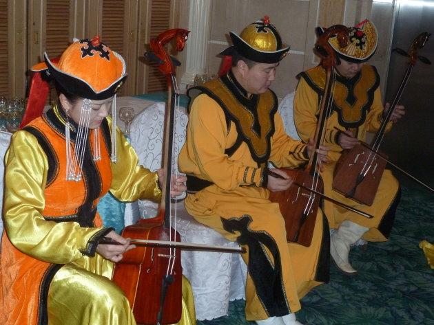 Mongools goud muziekinstrument